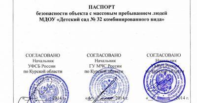 Для каких объектов требуется паспорт безопасности?