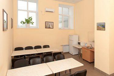 Комната приема пищи в офисе нормы